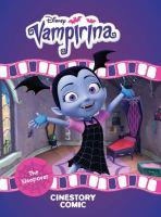 Disney Vampirina. The sleepover : cinestory comic
