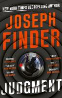 Judgment : by Finder, Joseph,