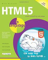 HTML5 in easy steps : covers the new HTML 5.1 W3C recommendation