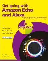 Get going with Amazon Echo and Alexa : in easy steps