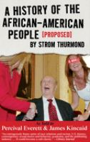 A History of the African-American People (proposed) by Strom Thurmond
