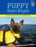 Puppy start right : foundation training for the companion dog