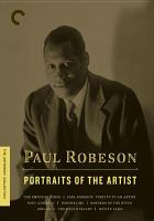 Paul Robeson Outsider.
