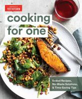 Cooking for one : by