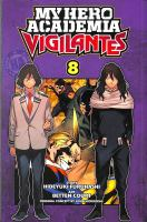 My hero academia vigilantes. Volume 8