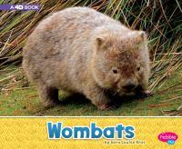 Wombats : a 4D book