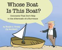 Whose Boat Is This Boat: Comments That Don't Help in the Aftermath of a Hurricane