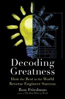 Decoding Greatness