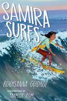 Samira surfs