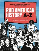 Rad American history A-Z : by Schatz, Kate,
