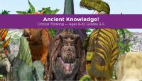 Ancient knowledge! Critical thinking.