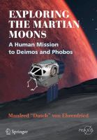 Exploring the Martian Moons ; a Human Mission to Deimos and Phobos