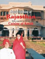 Classic cooking of Rajasthan with a special section on cuisine of Kotah