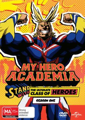 Book cover for My Hero Academia : Season 1