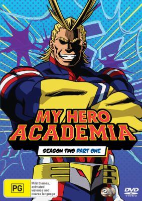 Book cover for My Hero Academia : Season 2, Part 1