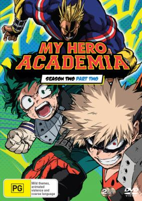 Book cover for My Hero Academia : Season 2, Part 2