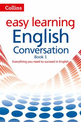 Book cover for Collins easy learning English Conversation 1.