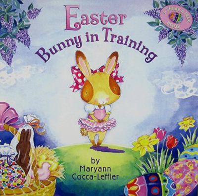 Book cover for Easter bunny in training