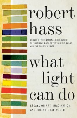 What light can do: esays on art, imagination, and the natural world