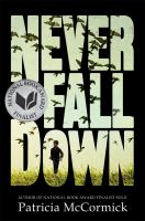 Never fall down a novel
