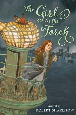 The girl in the torch
