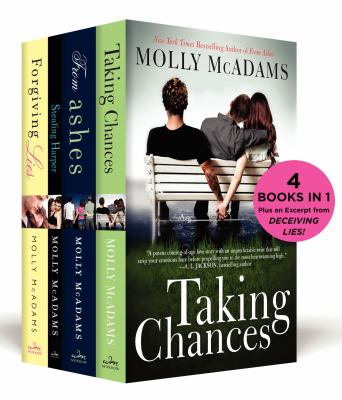The Molly McAdams New Adult Boxed Set Taking Chances, From Ashes, Stealing Harper, Forgiving Lies, and an excerpt from Deceiving Lies