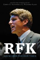 RFK : his words for our times