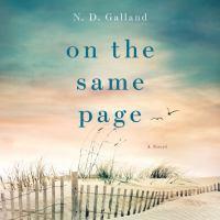 On the Same Page A Novel