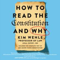 How to Read the Constitution?and Why