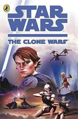 Book cover for Star Wars. The clone wars