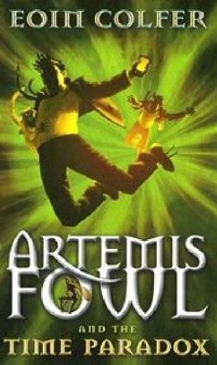 Link to Catalogue record for Artemis Fowl and the time paradox