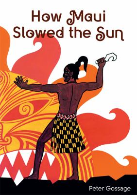 Book cover for How Māui slowed the sun