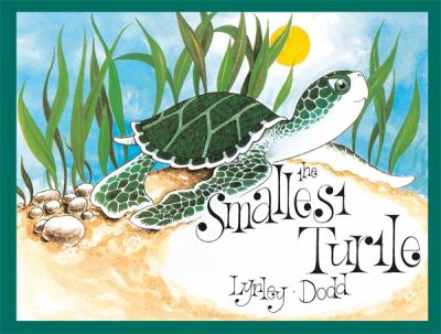 Book cover for The smallest turtle
