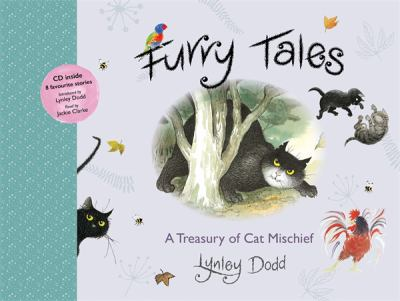 Book cover for Furry tales : a treasury of cat mischief