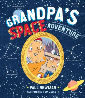 Book cover for Grandpa's Space Adventure