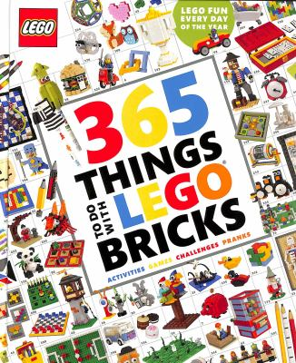 Link to Catalogue record for 365 things to do with LEGO bricks