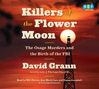 Killers of the Flower Moon The Osage Murders and the Birth of the FBI