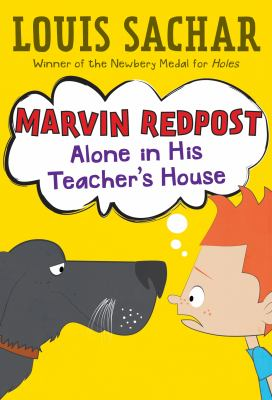 Marvin Redpost alone in his teacher's house
