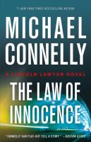 The law of innocence by Connelly, Michael,
