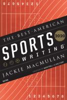 The best American sports writing 2020