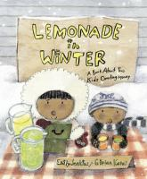 Lemonade in Winter A Book About Two Kids Counting Money