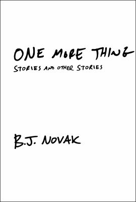 One more thing : stories and other stories