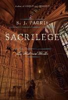 Sacrilege : a thriller