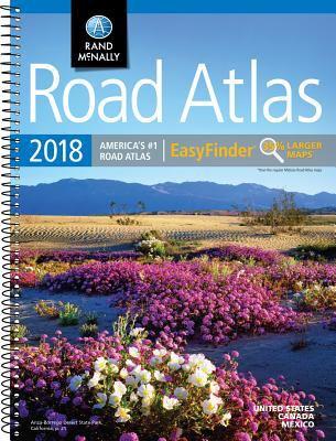 Road atlas 2018 easyfinder.