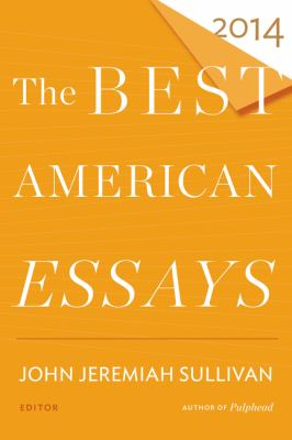 The Best American Essays 2014