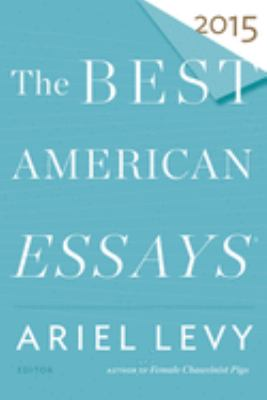 The best American essays 2015