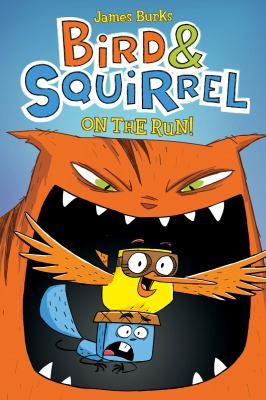 Bird & squirrel on the run