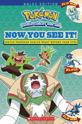 Book cover for Now you see it! : Kalos edition