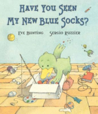Book cover for Have You Seen My New Blue Socks