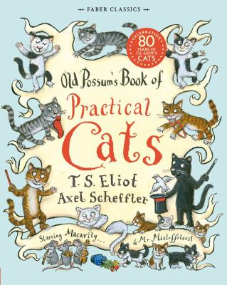 Book cover for  Old Possum's book of practical cats